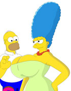 simpsons Romping lisa homer