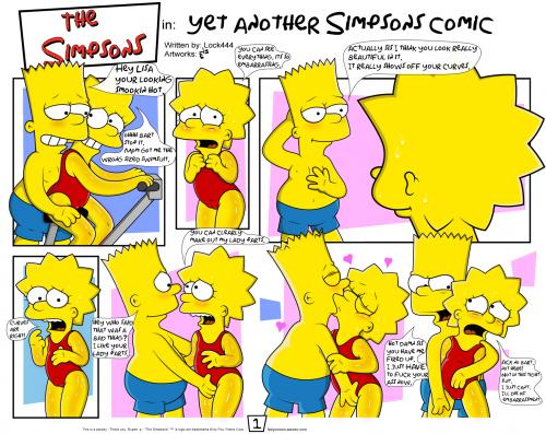 Порно хентай комиксы симпсоны