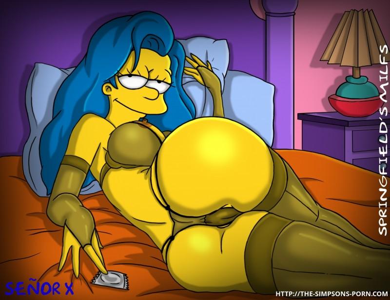 The Simpsons Toon Sex